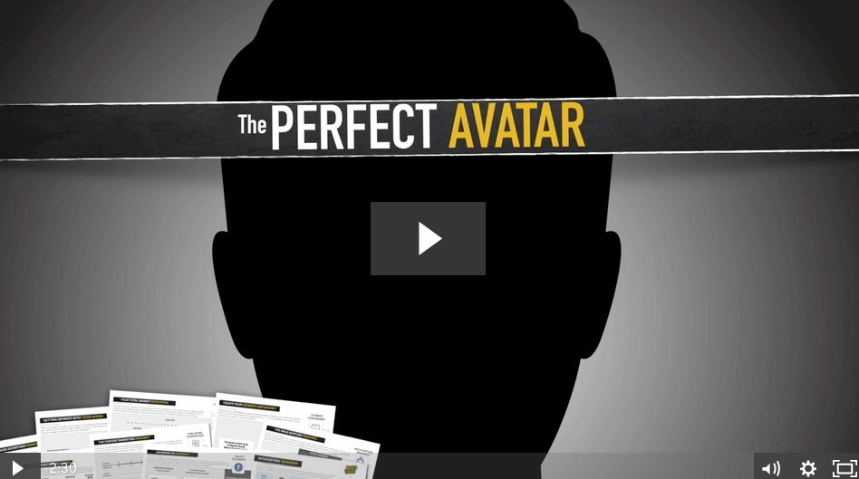 The Perfect Avatar course will ensure that you find the ideal customer for your business. Learn how to serve the right audience and solve the right problem in a way that fits your personal and financial goals.